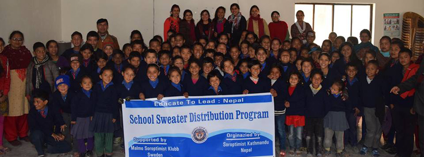 School Sweater Distribution Programme